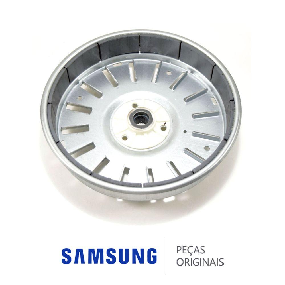 Rotor do Motor Direct Drive para Lavadora e Lava e Seca Samsung WD0854, WD106, WD856, WD8854