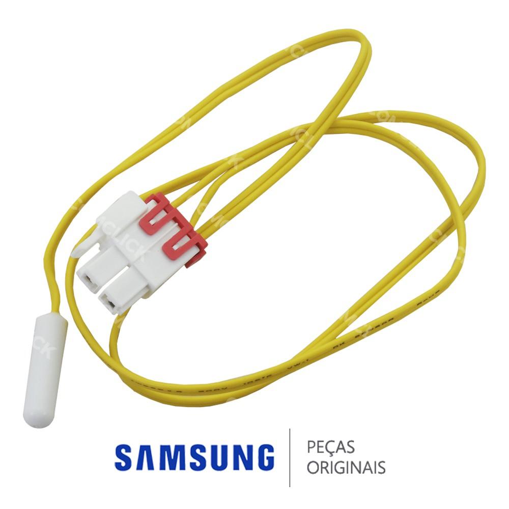 Sensor de Degelo / Temperatura do Freezer para Refrigerador Samsung RL62TCPN2, RL62TCSW, RS21DAMS, RS21DASW