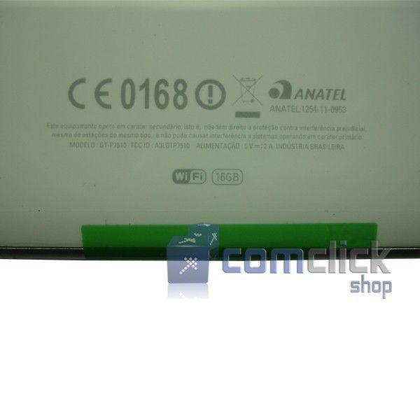 Tampa Traseira Branca para Tablet Samsung Galxy Tab. GT-P7510