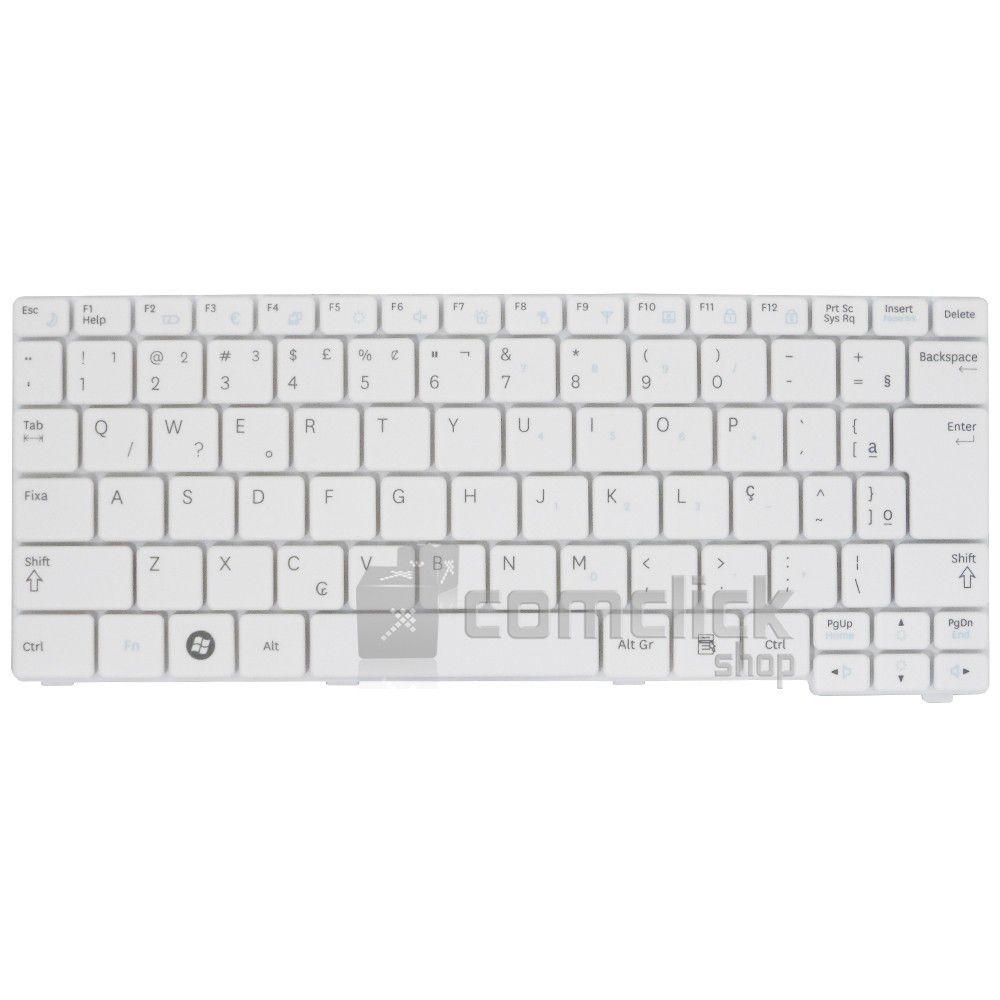 Teclado Branco em Português para Netbook Samsung NP-N150