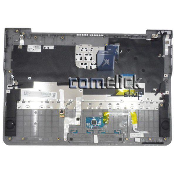 Teclado em Português com Gabinete Superior e Touchpad para Ultrabook Samsung NP530U3B-AD1BR