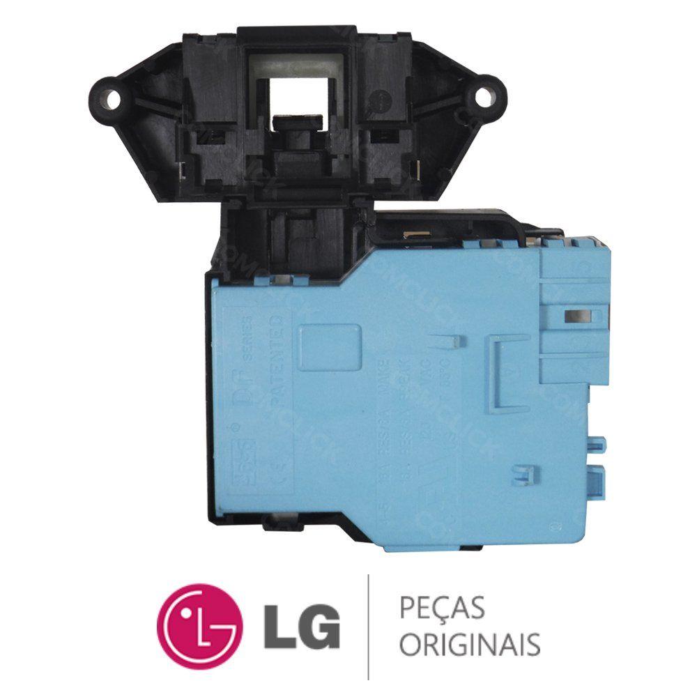 Trava da Porta 110V EBF49827801 Lavadora e Lava e Seca LG WD-1403FD, WD-1409FD, WD-1403RD, WD1485AT