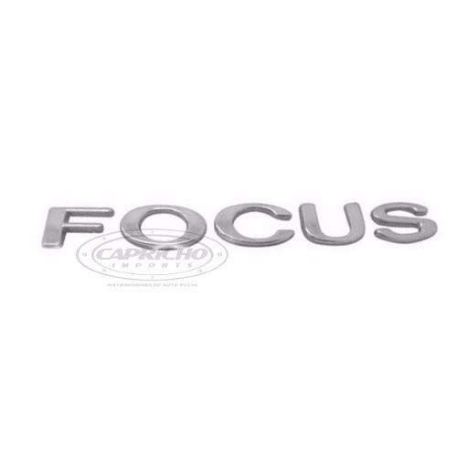 Emblema Focus Cromado 5mm X 20mm 148mm Original Ford