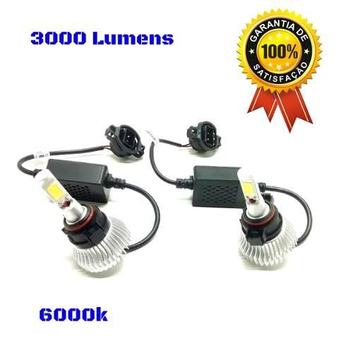 Par Super Led Lampada 6000k 3000 Lumens H16