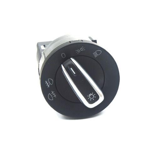 Botão Interruptor Farol Cromado E Neblina Gol Polo Golf Fox