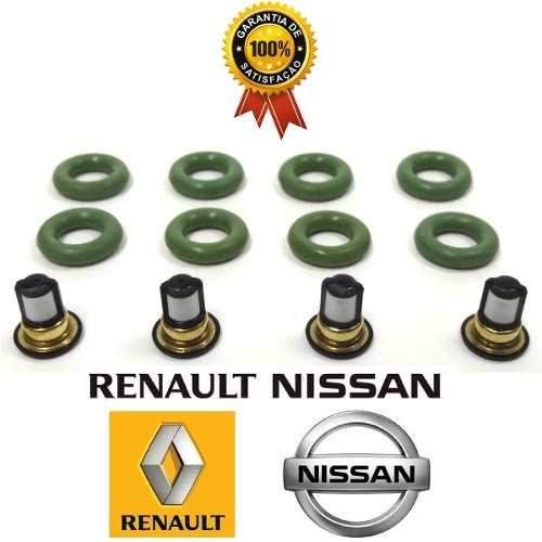 Kit Reparo Filtro Do Bico Injetor Nissan, Renault Fluence