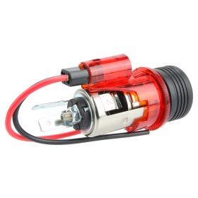 Acendedor De Cigarros Universal Para Veículos 12V (Vermelho)
