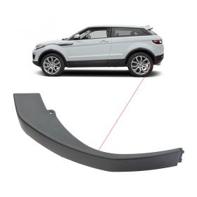 Aplique Moldura Suporte Parachoque Traseiro Range Rover Evoque Lado Esquerdo