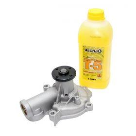 Bomba de água Jac J6 2.0 16V 2011 2012 2013 2014 2015 2016 / Jac T6 2015 - 2016 + Aditivo para Radiador T5 Amarelo