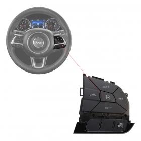 Botão Comando Do Volante Fiat Toro Jeep Renegade Sem Moldura