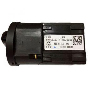 Botão Interruptor do Farol Volkswagen Fox / Crossfox / Spacefox - 5Z0941531