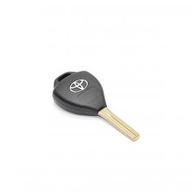 Capa Carcaça Chave Toyota Corolla / Hilux / Rav4 / SW4 / Etios - 3 Botões