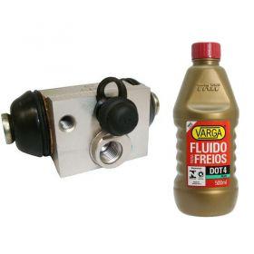 Cilindro de Freio / Burrinho com Fluido Varga Peuegot 206 / Citroen C3