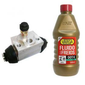 Cilindro de Freio / Burrinho Mercedes Classe A com Fluido Varga