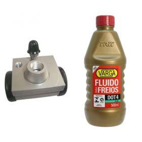 Cilindro de Freio / Burrinho Vw Up / Fox com Fluido Varga K1017