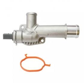 Flange do Fluxo D'Água Volkswagen Amarok 2.0 16v Biturbo 10 / 15 Alumínio