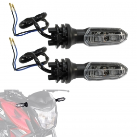 Kit 2 Piscas Seta De Led Honda CB Twister 250 Fan 160 Titan 160 XRE 300