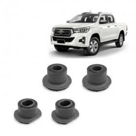 Kit 4 Buchas Da Caixa De Direção Toyota Hilux - 2005 a 2015