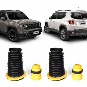 Kit Batentes Do Amortecedor Traseiro Jeep Renegade 2015 a 2019