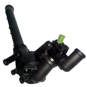 Kit Cavalete Válvula Termostática Água Gol G5 Fox + Sensor