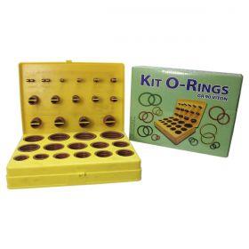 Kit Oring Viton Marrom Vedação GR90 30 Medidas / 382 peças