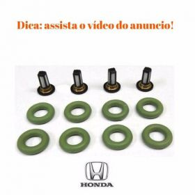 Kit Reparo Filtros Bico Injetor Honda New Civic, Crv, Fit