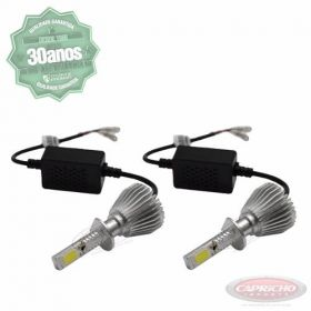 Kit Super Led Lampada H1 6000k Super Branca 6000 Lumens