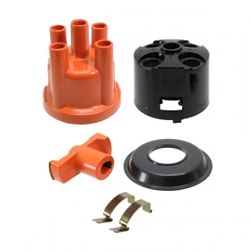 Kit Tampa Do Distribuidor C/ Rotor, Capa e Presilha Vw / Fiat / Ford / Chevrolet