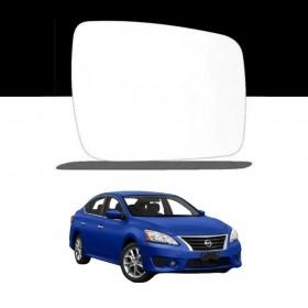 Lente Espelho Do Retrovisor Lado Direito Nissan Sentra 09/13