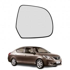 Lente Espelho Do Retrovisor Lado Direito Nissan Versa 10/14