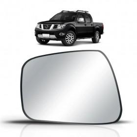 Lente Espelho Do Retrovisor Lado Esquerdo Nissan Frontier