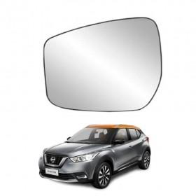 Lente Espelho Do Retrovisor Lado Esquerdo Nissan Kicks 16/20