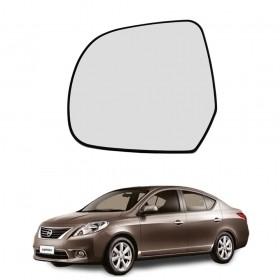 Lente Espelho Do Retrovisor Lado Esquerdo Nissan Versa 10/14