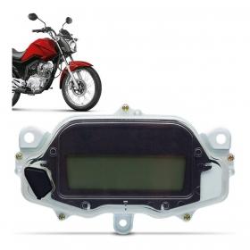 Painel Digital 1 botão Honda CG125 FAN 2014 2015 - Carburada