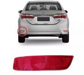Refletor Parachoque Traseiro Toyota Corolla 2015 Em Diante - Esquerdo