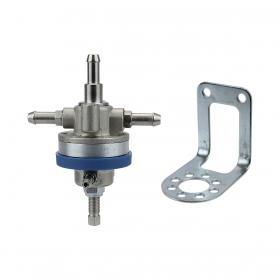 Regulador De Pressão Carburador 3 Vias - Ajustável 0 à 3,5 bar + Suporte Multidirecional