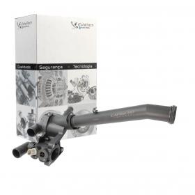VÁLVULA TERMOSTÁTICA COMPLETA VW GOL FOX VOYAGE G5 G6 - SENSOR CINZA