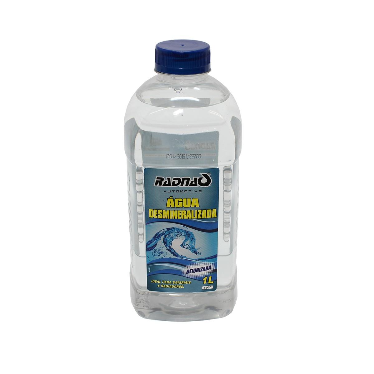 Água desmineralizada Radiador e bateria - Radnaq