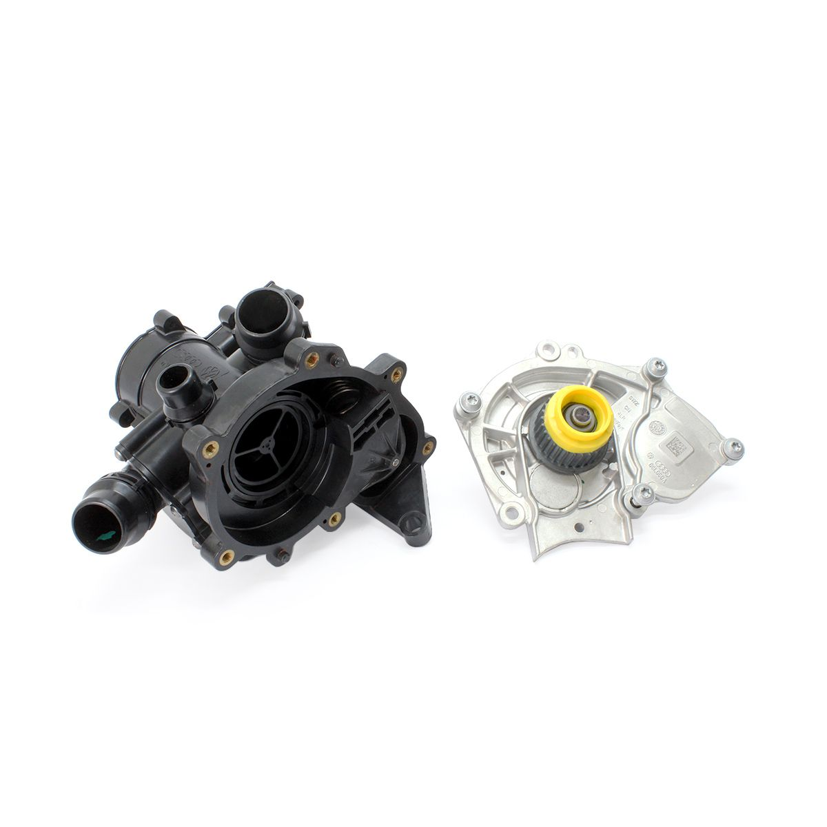 Bomba De Água Com Válvula Termostática e Correia - AUDI VW