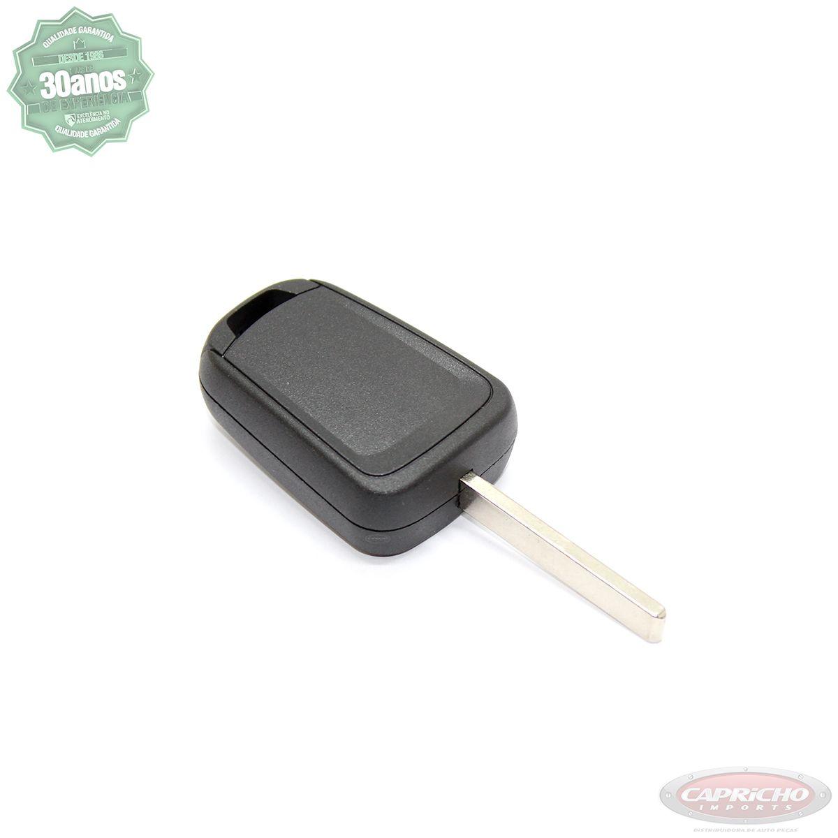 Carcaça Chave Chevrolet Celta / Corsa / Prisma  - Lisa sem botões