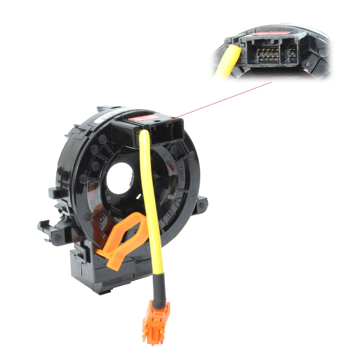 Cinta Airbag Hilux 2006 - 2014 Corolla Com Controle de Som