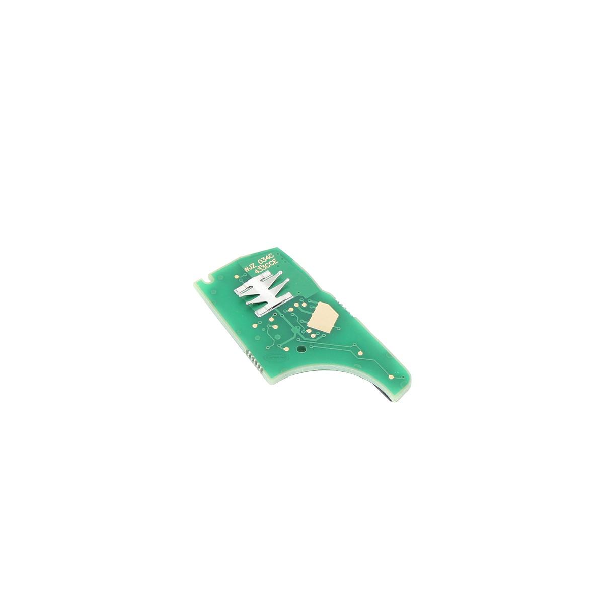 Circuito interno / placa chave canivete  3 botões - Chevrolet