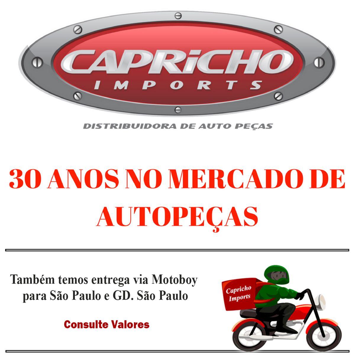 KIT 4 PINOS GUIA DA PINÇA DE FREIO GM CORSA MONTANA MERIVA 2003 EM DIANTE - 10mm