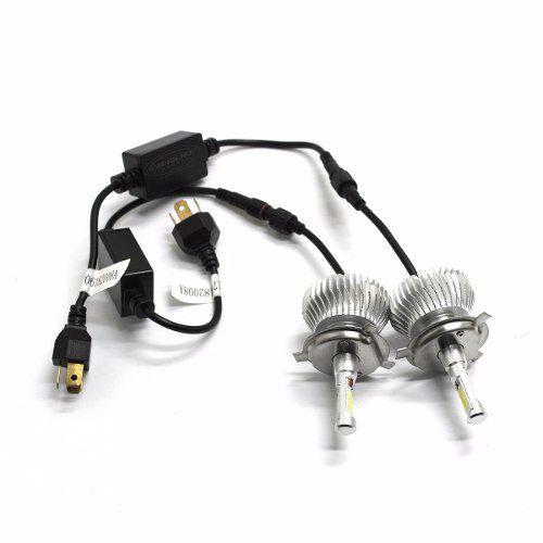 Kit Lâmpada Super Led Head Light H4 6000k 3000 Lumens 12-24v
