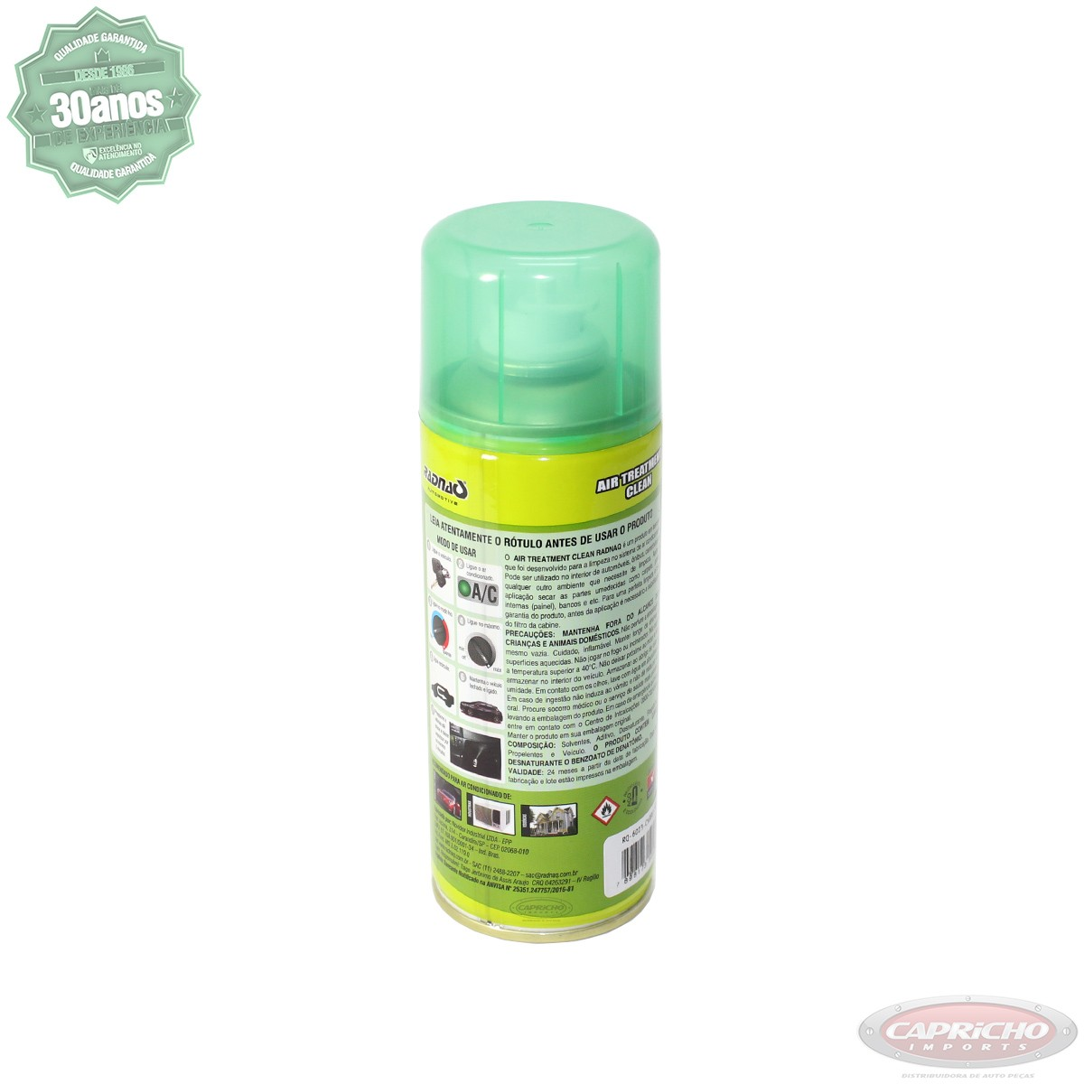 Limpa / Higieniza sistema ar condicionado - Radnaq - Inodoro