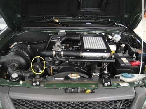Mangueira Filtro Ar Turbina L200 Sport/ Outdoor Original