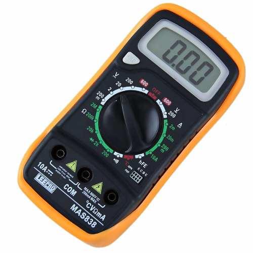 Multímetro Automotivo Digital Com Sensor De Temperatura