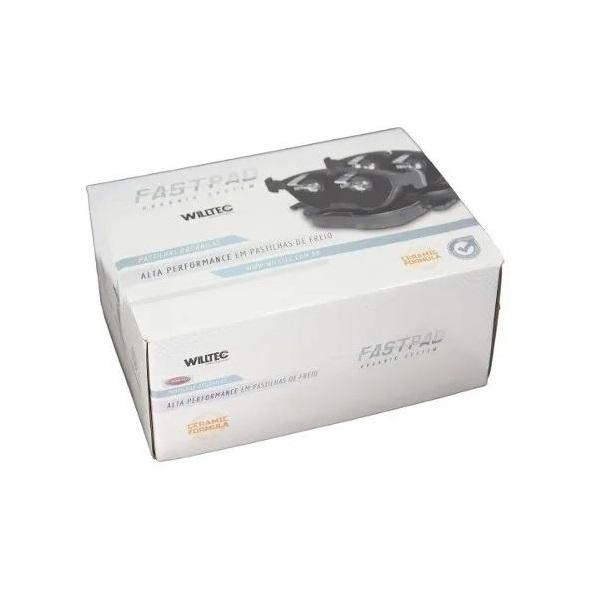 Pastilha Ceramica Freio Dianteiro Audi A8 S4 S6 Fp557