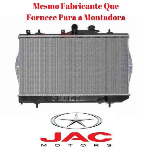 RADIADOR ARREFECIMENTO MOTOR JAC J3 HATCH J3 TURIN 1.4 E 1.5