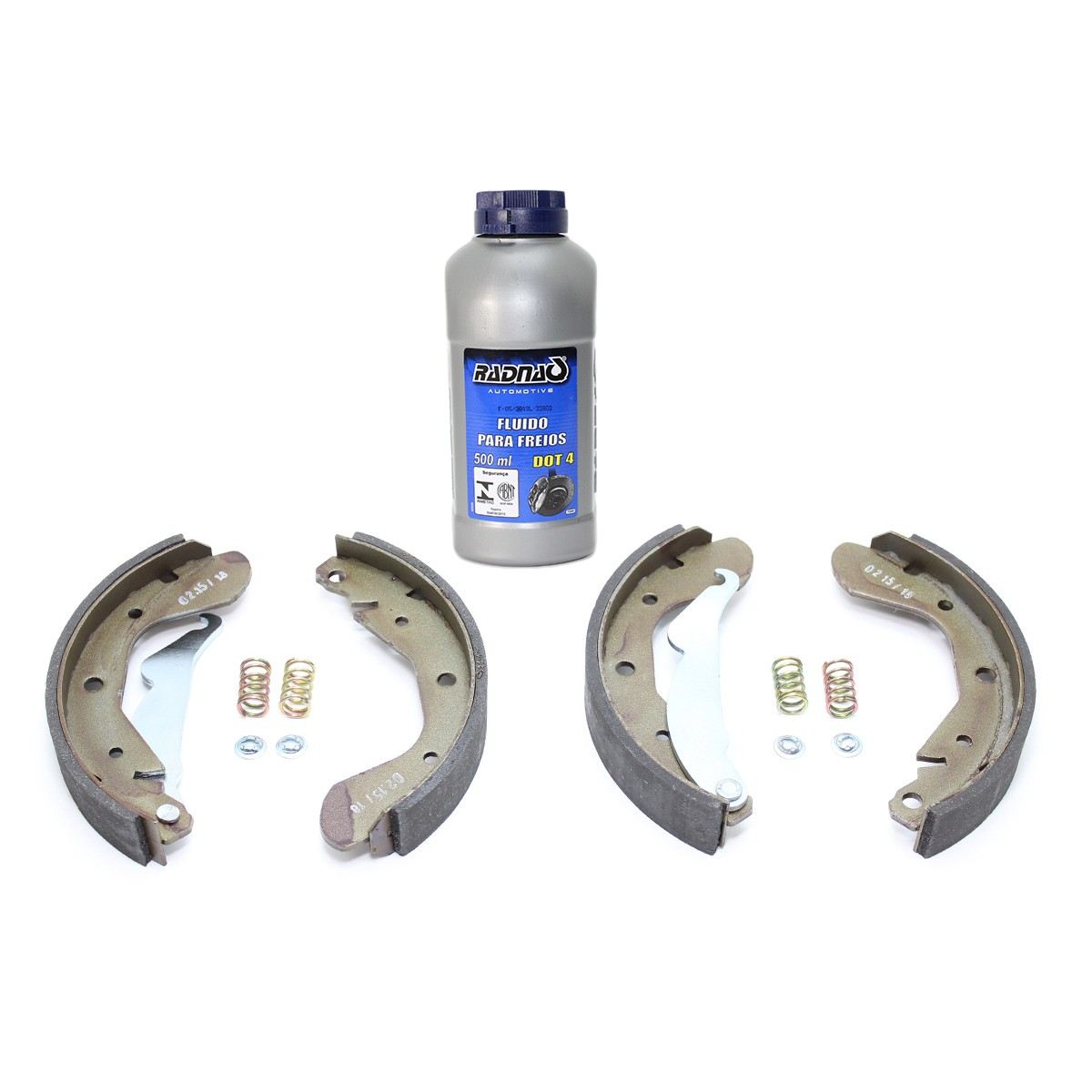 Sapata De Freio Chevrolet Corsa / Agile Ltz / Classic + fluido para freios DOT4